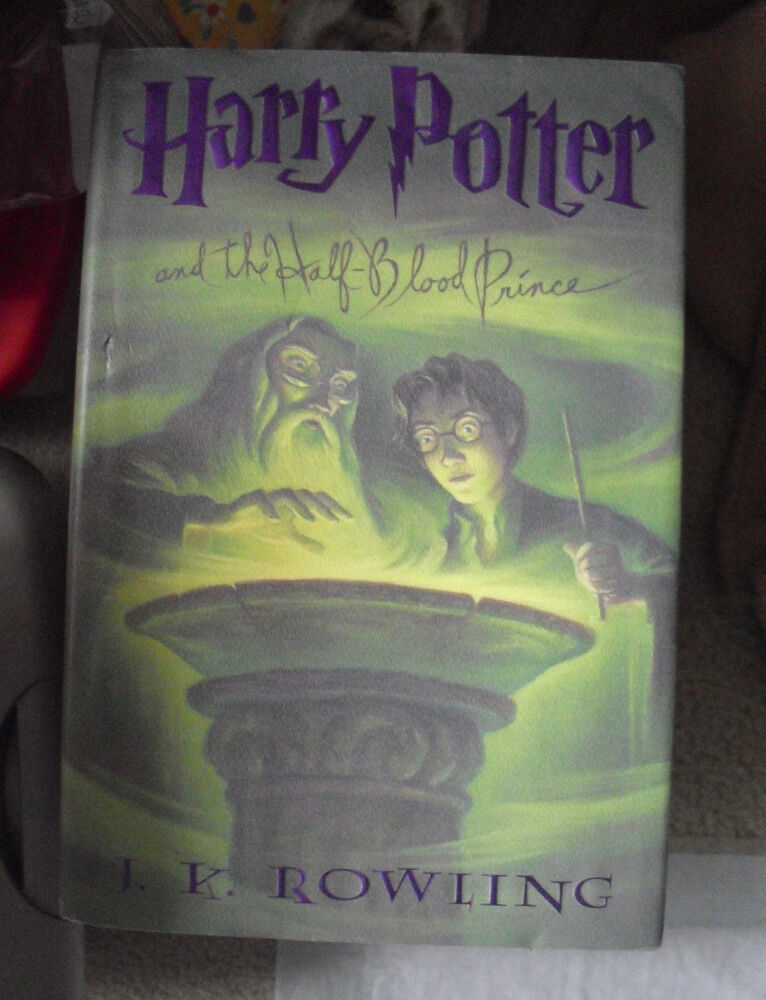 Harry Potter Book First Edition ~ First american edition book harry potter half blood