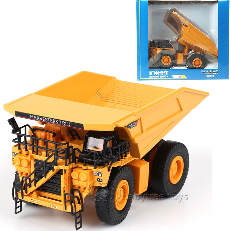 Toy Construction Trucks : Kdw scale diecast mining truck construction vehicle
