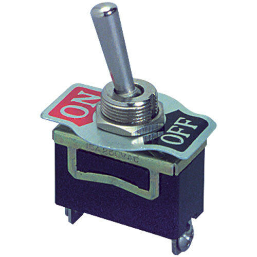 Electronic Toggle Switches : Spst heavy duty toggle switch with screw terminals ebay