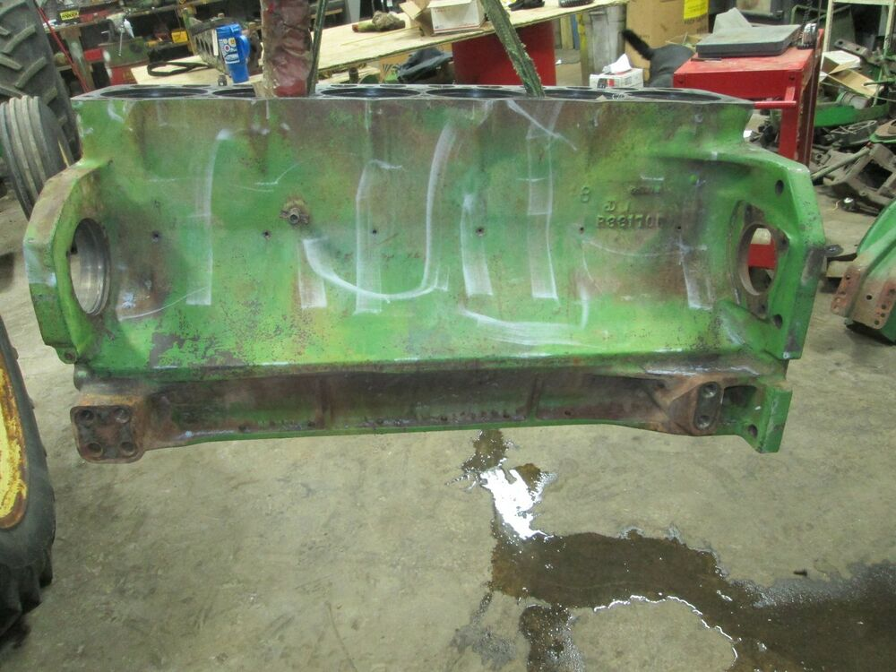 John Deere Block : John deere engine block gas r ar