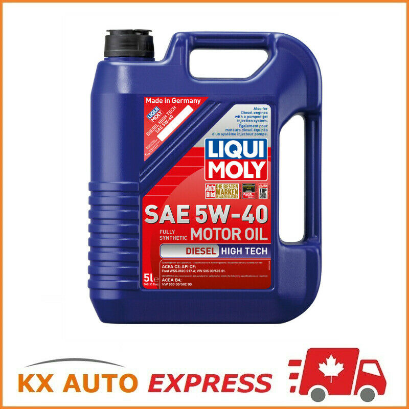 Liqui Moly Diesel High Tech Sae 5w 40 Synthetic Technology