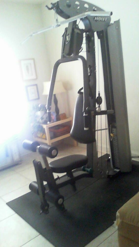 Hoist v home gym ebay