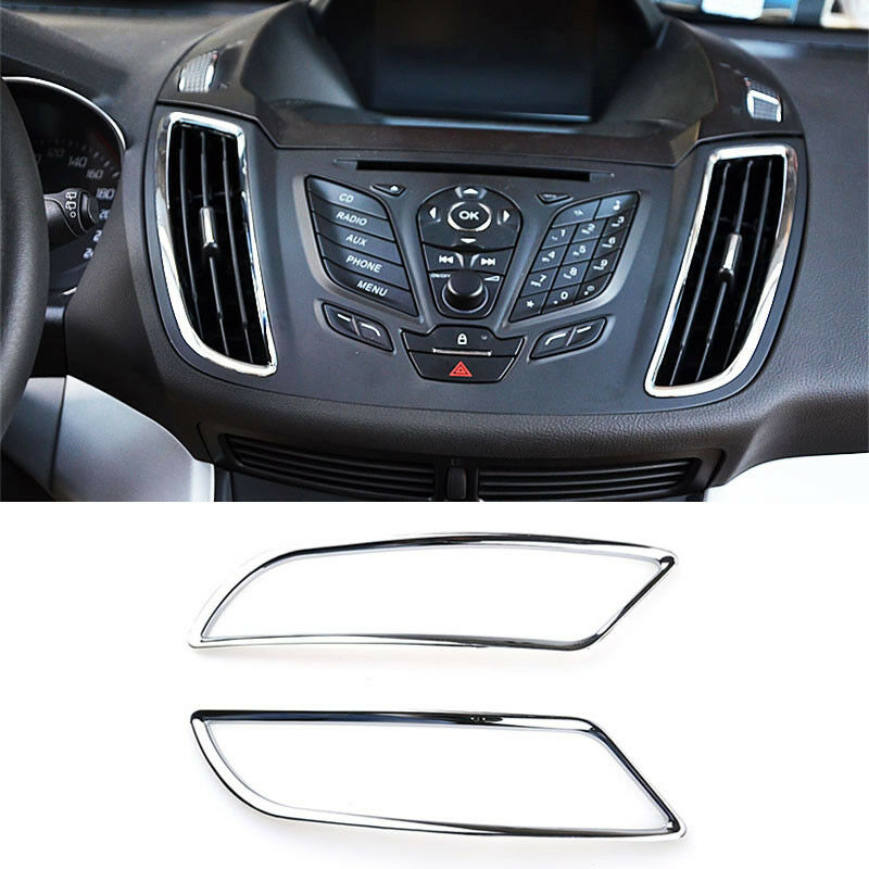 2013 Ford Escape Hybrid: FIT FOR FORD ESCAPE KUGA 13- CHROME SIDE DASHBOARD AIR