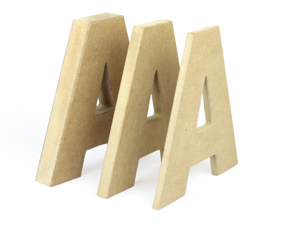 Mdf letters 20cm hand cut wooden alphabet letters for Furniture 5 letters word whizzle