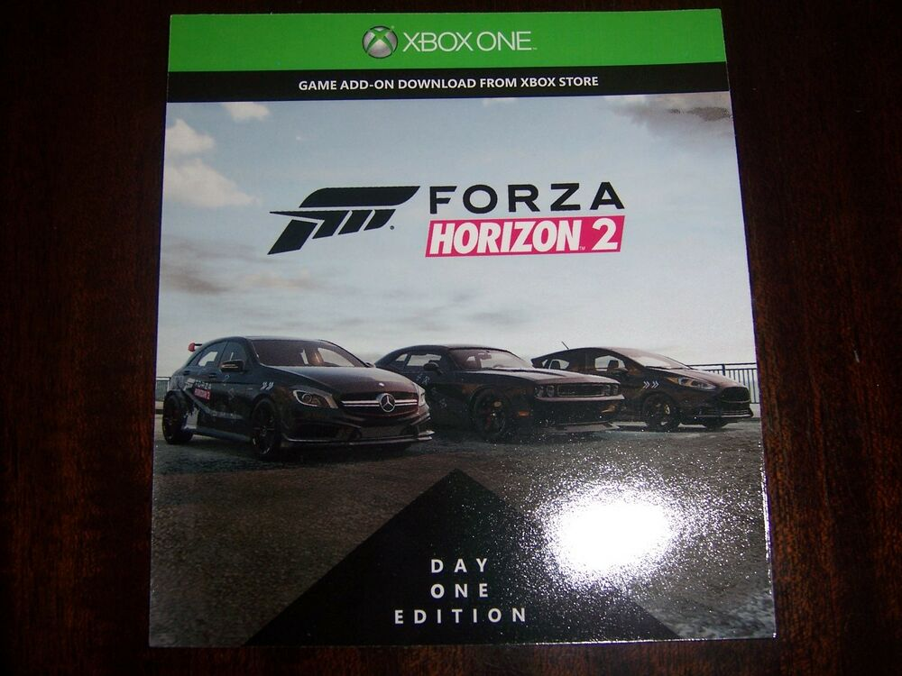 forza horizon 2 add on bonus dlc code only xbox one full game not included ebay. Black Bedroom Furniture Sets. Home Design Ideas