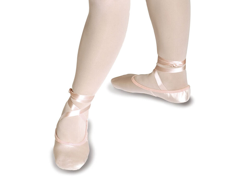 satin ballet shoe ribbon pink ivory bridesmaid ebay