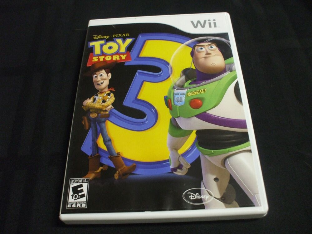 Case Of Toy Story Games : Replacement case no game toy story nintendo wii ebay