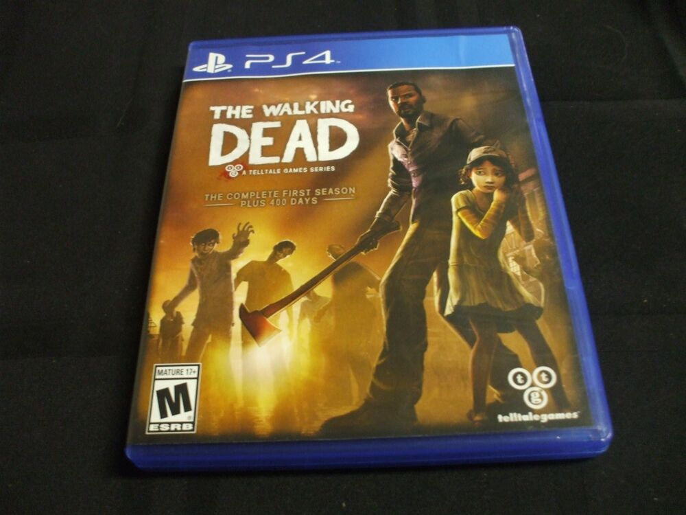 replacement case no game the walking dead playstation 4. Black Bedroom Furniture Sets. Home Design Ideas