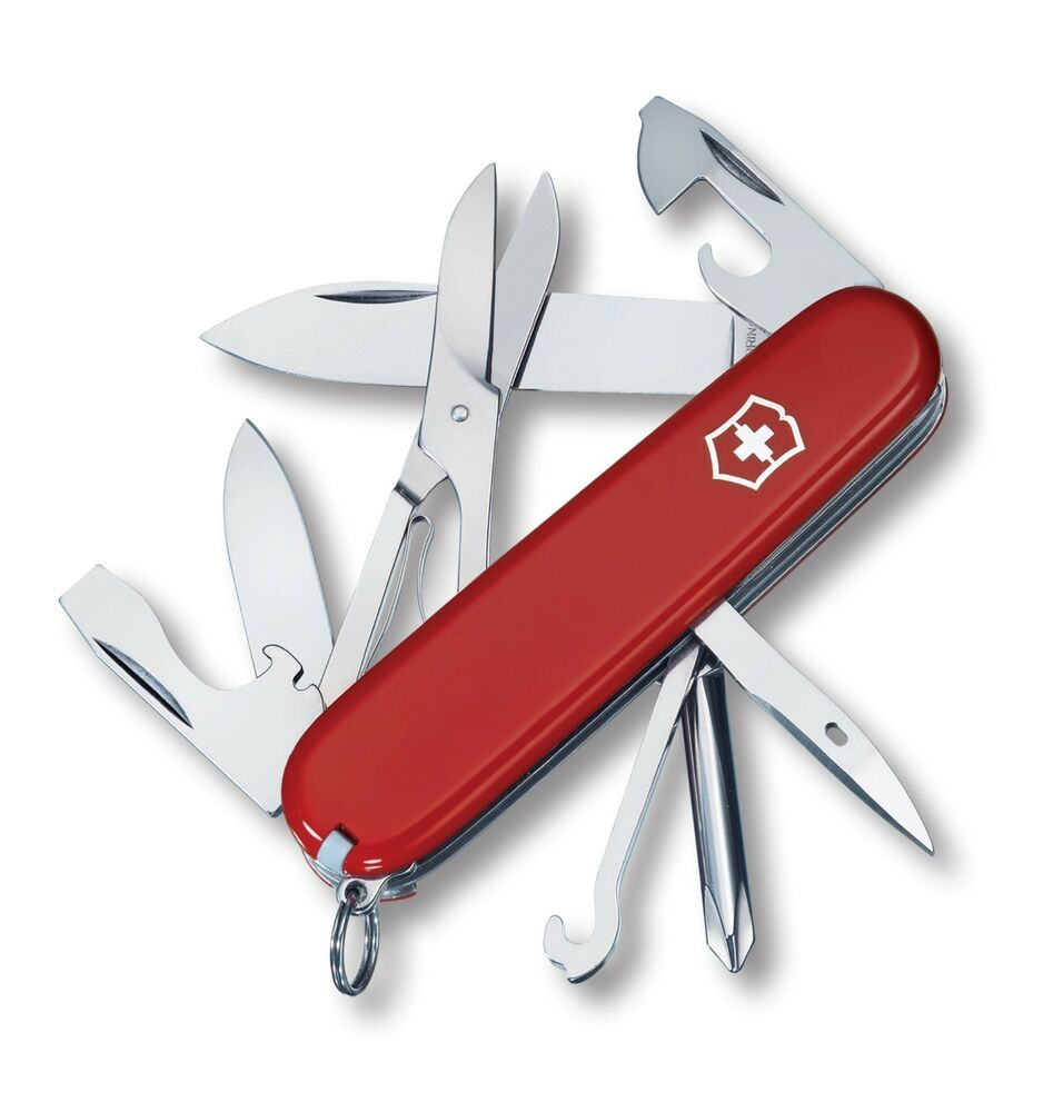 Victorinox Swiss Army Knife Super Tinker Red Model 53341