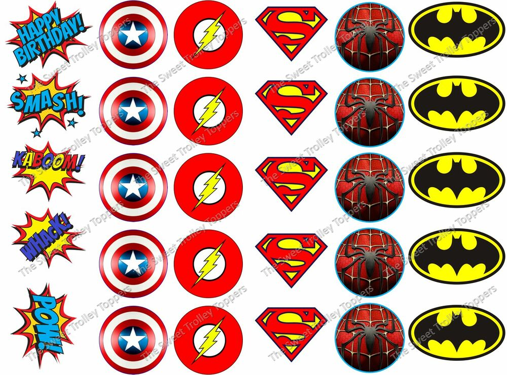 Marvel Cake Toppers Decorations