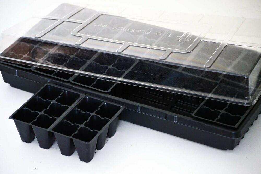 Seed Starter Germination Station Complete Kit W Dome 72