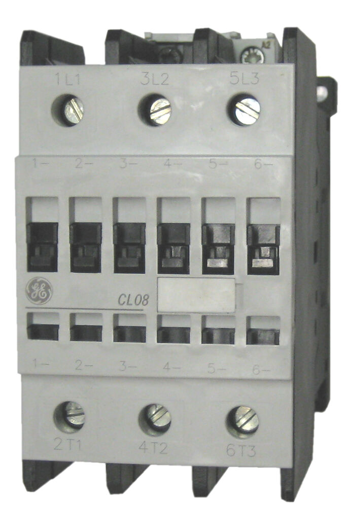 Ge Cl08a300mj 3 Pole 110 Amp Contactor With A 120 Volt Ac
