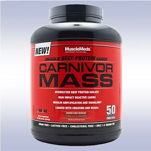 musclemeds anabolic beef protein gainer