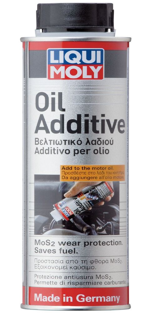 liqui moly mos2 low viscosity oil additive 300ml german technology 2591 ebay. Black Bedroom Furniture Sets. Home Design Ideas