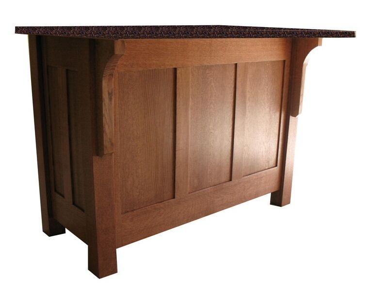 furniture style kitchen island 60 quot mission style kitchen island with granite top ebay 17821