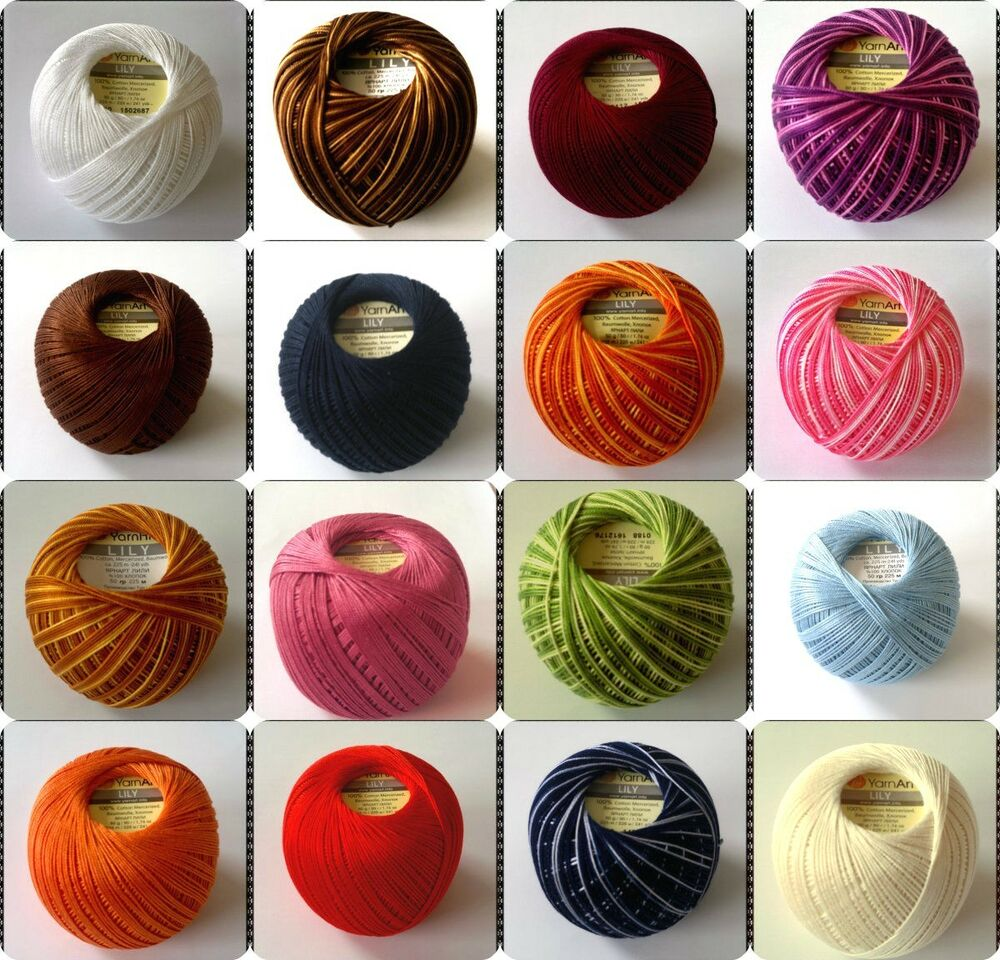 Crochet Thread Sizes : Crochet thread size 10 eBay