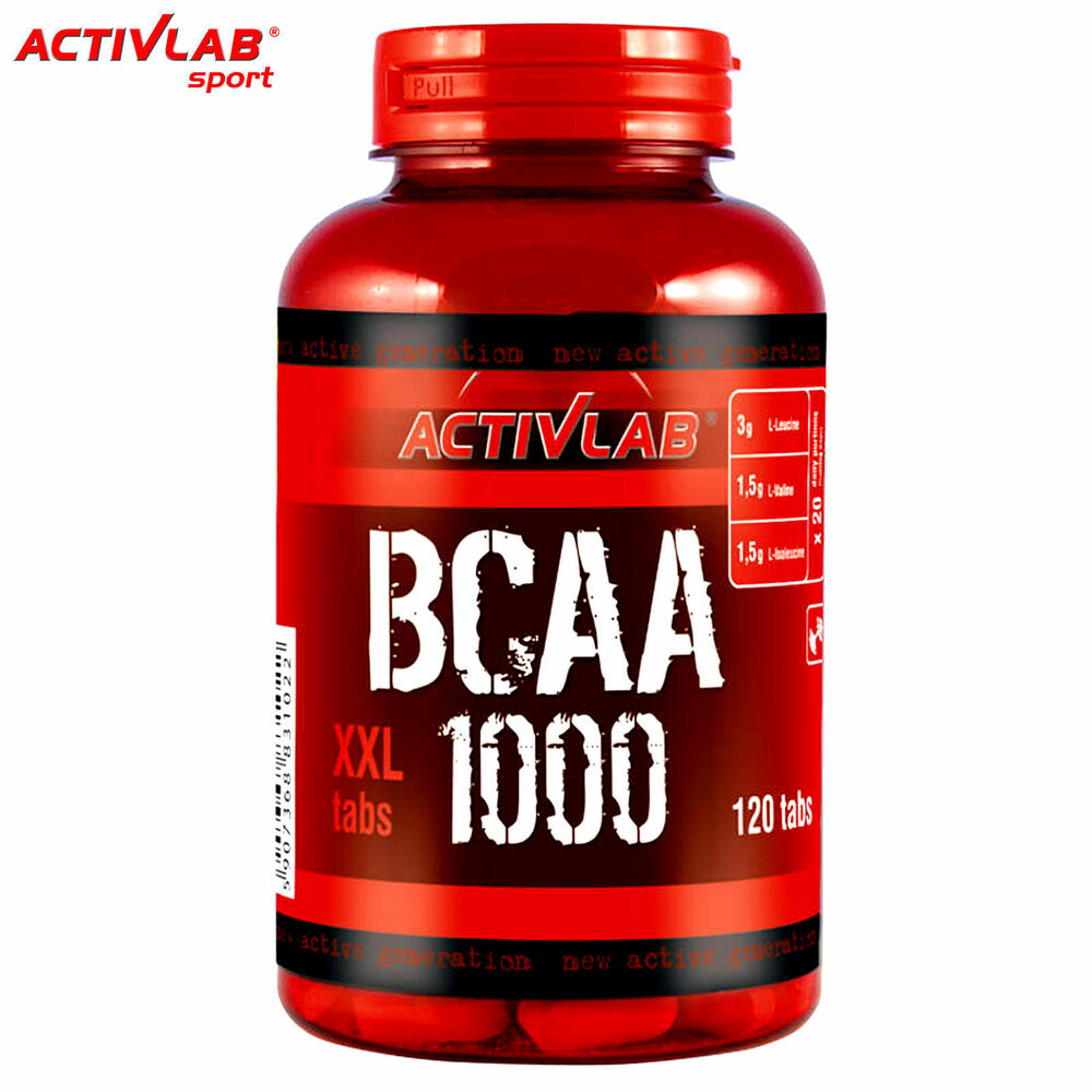 BCAA 1000 120 Tablets Muscle Development Growth Gain Whey