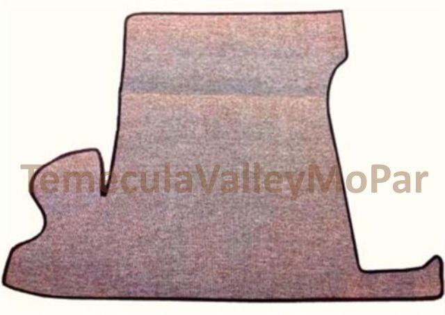 Trunk Mat For 1949 1952 Plymouth Ebay