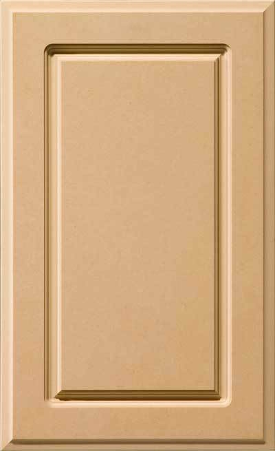 Custom cut to size mdf replacement raised panel cabinet for Kitchen cabinet doors