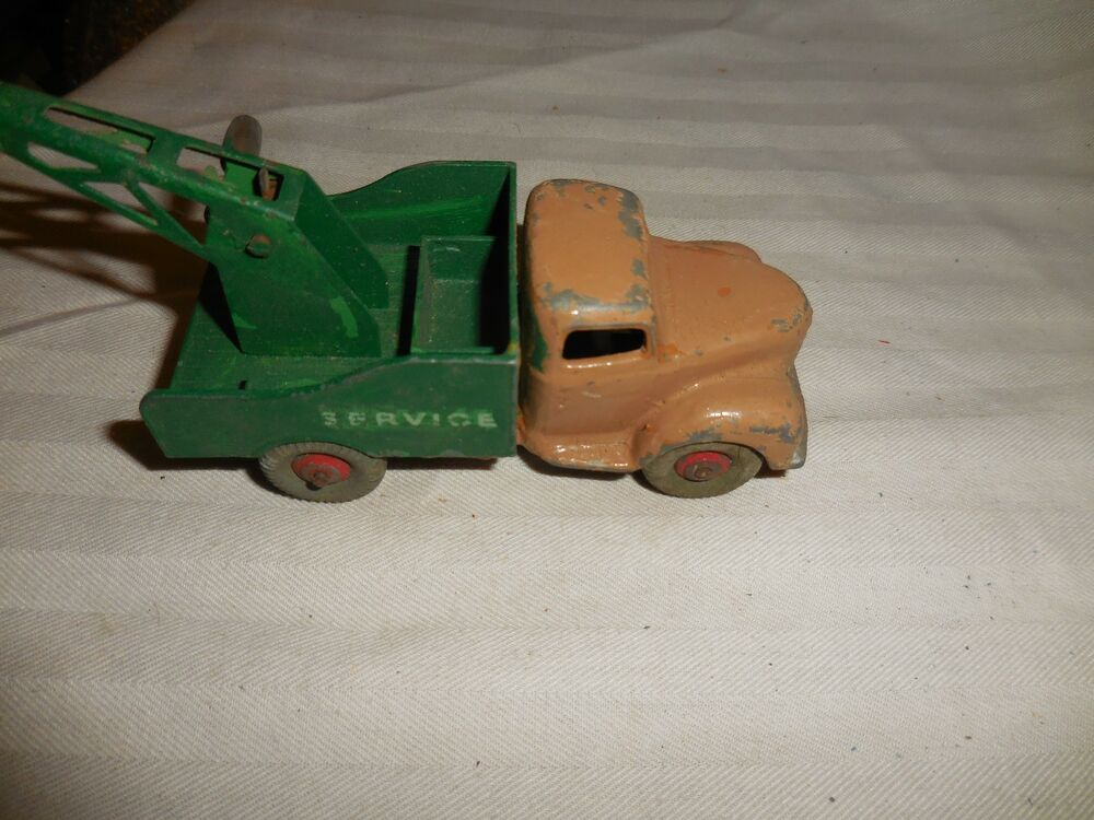 vintage dinky toys commer tow truck gray wheels no box ebay. Black Bedroom Furniture Sets. Home Design Ideas