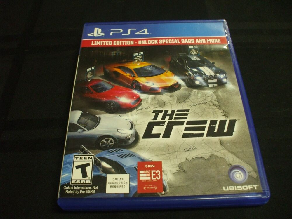 What Are The Ps4 Games : Replacement case no game the crew playstation ps ebay