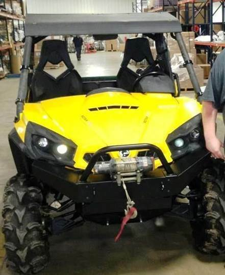 Can Am Commander For Sale >> 2010-16 CAN AM COMMANDER STINGER / BULL BAR FOR BAD DAWG FRONT STEEL BUMPER | eBay