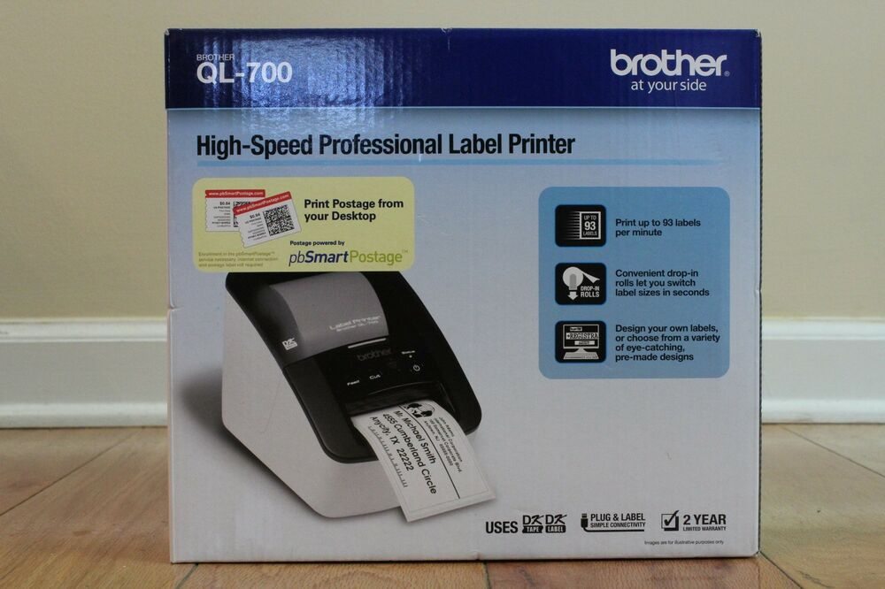 how to use label printer brother ql 700