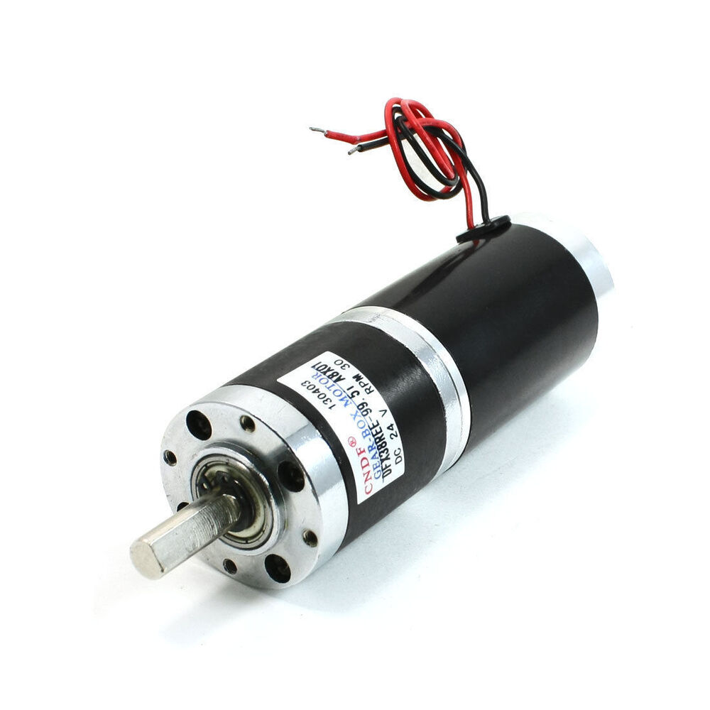 Dc 24v 30rpm Rotary Speed High Torque 8mm Dia Shaft