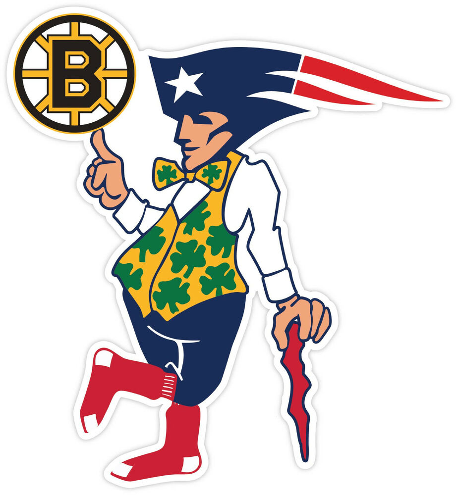 boston fan sport flag logo vinyl sticker decal bruins red sox logo images fenway south red sox logo pic