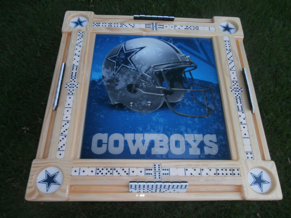 Dallas Cowboys Recliner Chair: Domino Tables By Art With Dallas Cowboys Theme