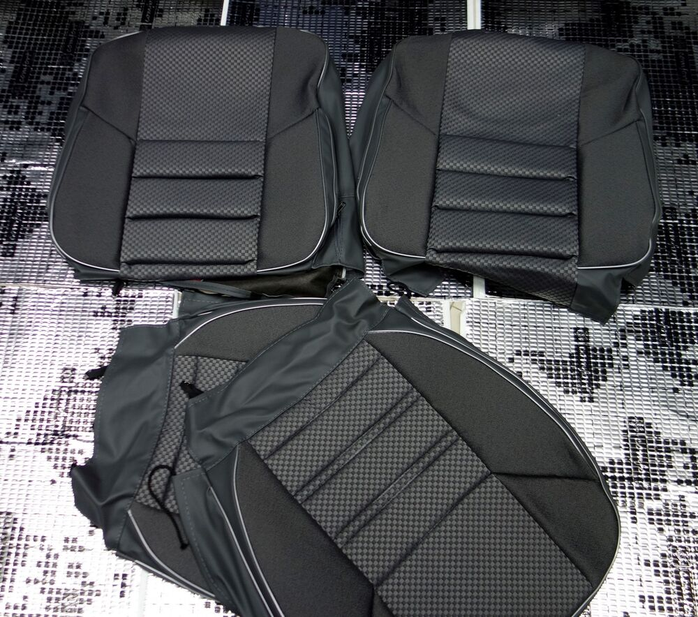 Mercedes benz c class w202 seat covers jacquard and for Mercedes benz car seat cushion