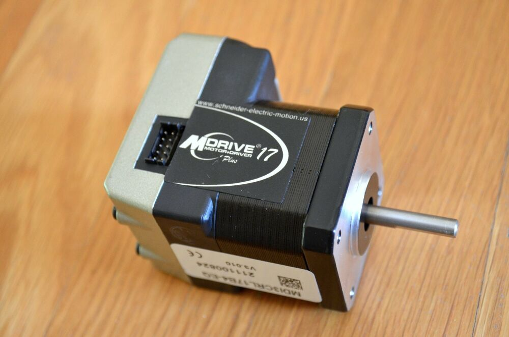 Ims mdrive17 nema17 stepper motor with built in driver for 6 amp stepper motor driver