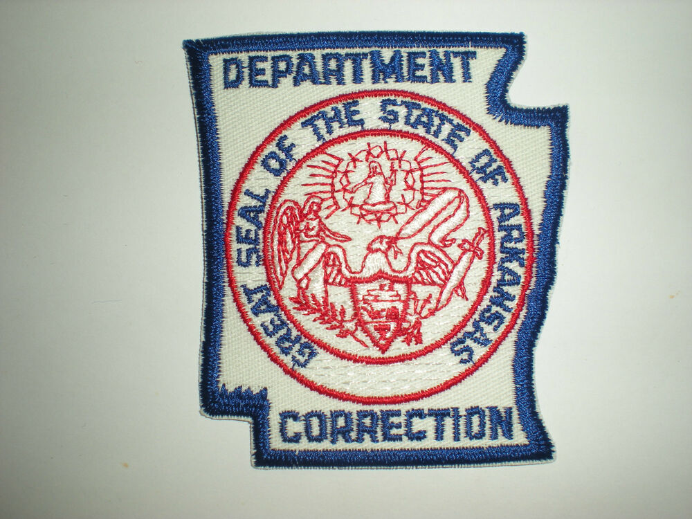 arkansas state department of corrections patch ebay. Black Bedroom Furniture Sets. Home Design Ideas