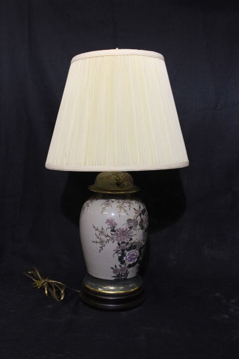 Vintage Frederick Cooper Asian Classic Ginger Style Lamp
