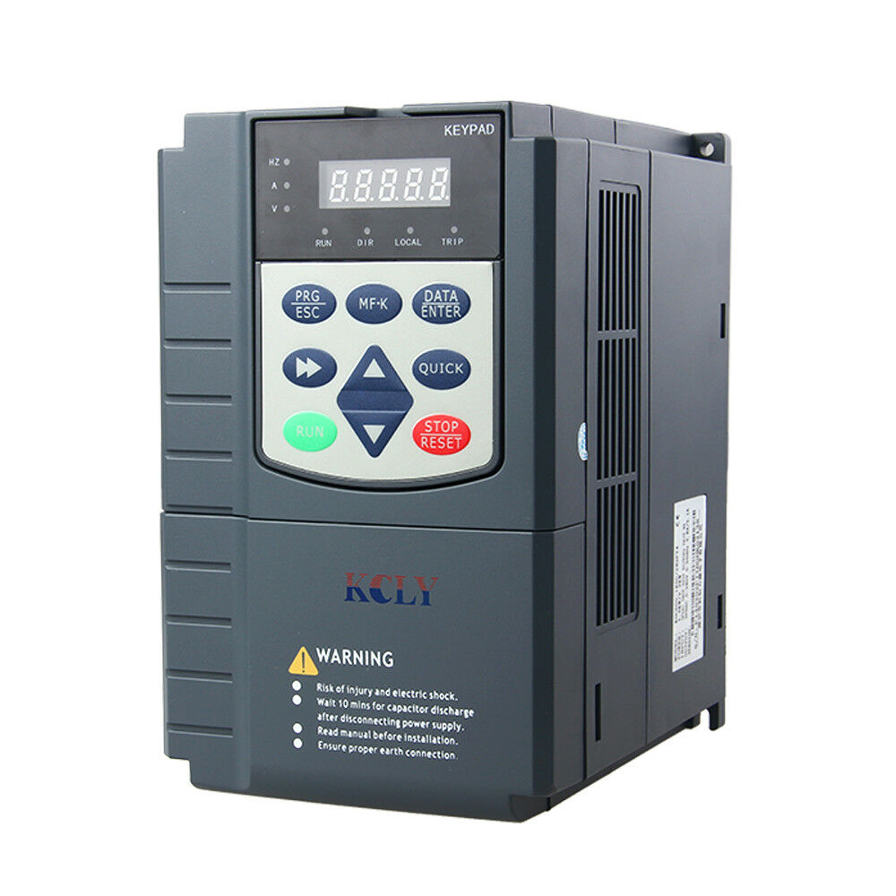 3 phase 380vac 17a 7 5kw 10hp current vector control for 3 phase vfd single phase motor