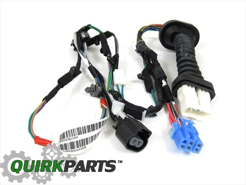 91 5 dodge ram wiring harness dodge ram wiring harness from cab back dodge ram 1500 2500 rear door wiring harness right or left ...