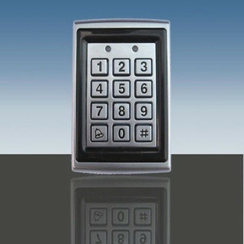 weatherproof keypad rfid for gate garage door strike ebay. Black Bedroom Furniture Sets. Home Design Ideas