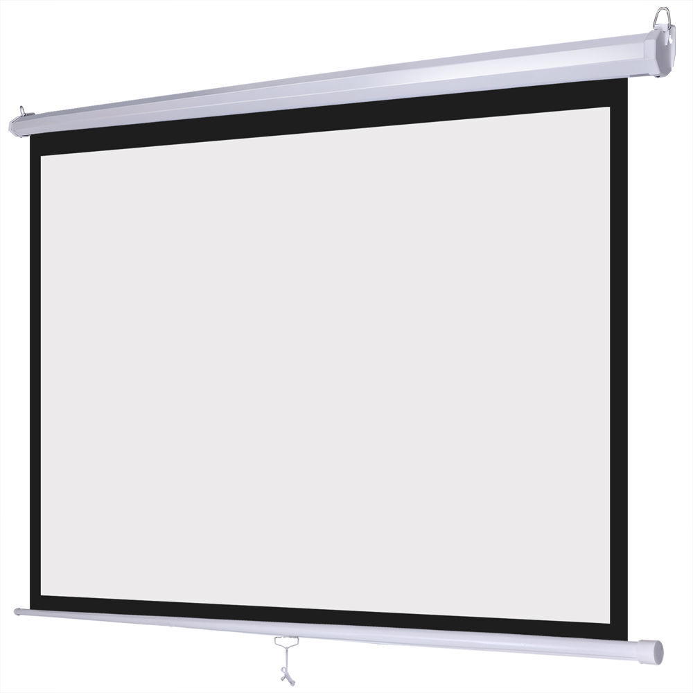 Retractable roll up screens for patio for Motorized retractable projector screen