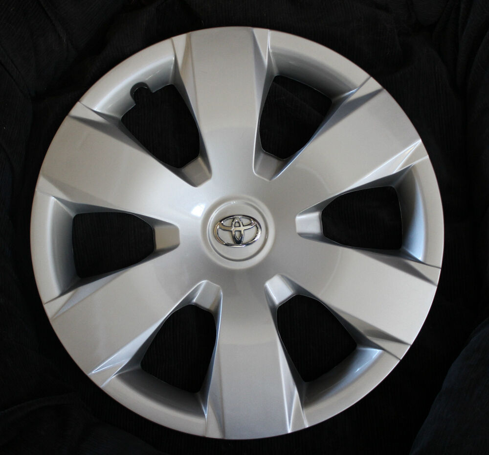 set of four 4 16 toyota camry 2007 2008 2009 2010 hubcap wheel cover hubcaps ebay. Black Bedroom Furniture Sets. Home Design Ideas