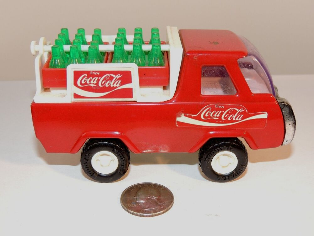 coca cola buddy l delivery truck made in japan over 4 inches long 8575 ebay. Black Bedroom Furniture Sets. Home Design Ideas