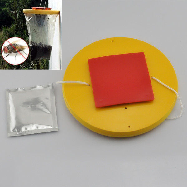 Outdoor Disposable Fly Trap Mosquito Killer Pre-Baited
