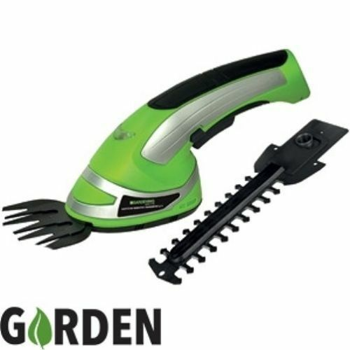 2 in 1 garden cordless grass shear hedge trimmer hand for Hand held garden shears
