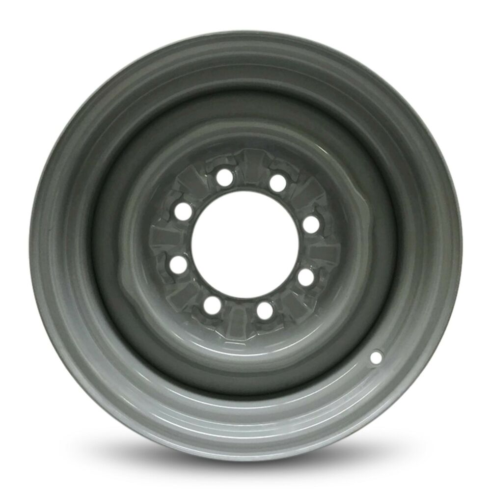 Steel slot wheels