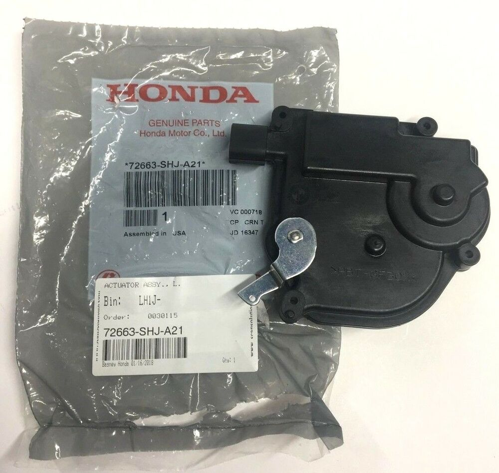 genuine honda oem 05 10 odyssey driver sliding door
