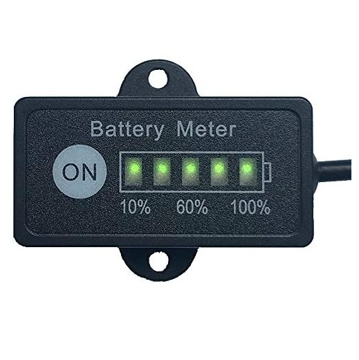 how to read amp meter on battery charger
