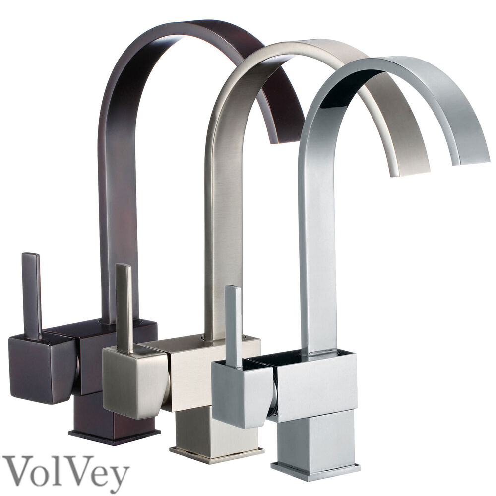 13 kitchen faucet chrome brushed nickel oil rubbed bronze for Chrome or brushed nickel kitchen faucet