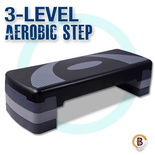Aerobic Workout Home Gym Fitness Exercise 4 Block Bench