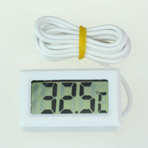Mini digital fish tank thermometer aquarium test water for Fish tank temperature