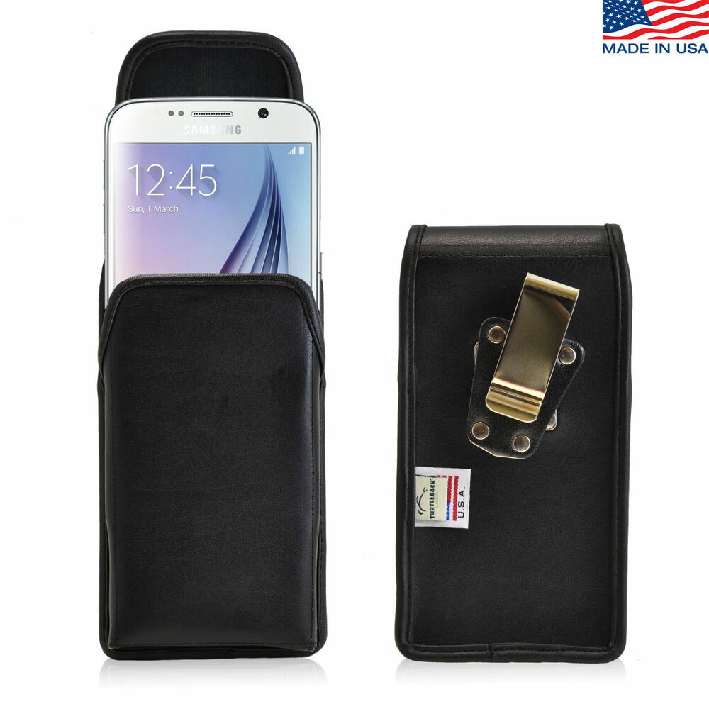 Turtleback Samsung Galaxy S6 Leather Pouch Holster Phone ...