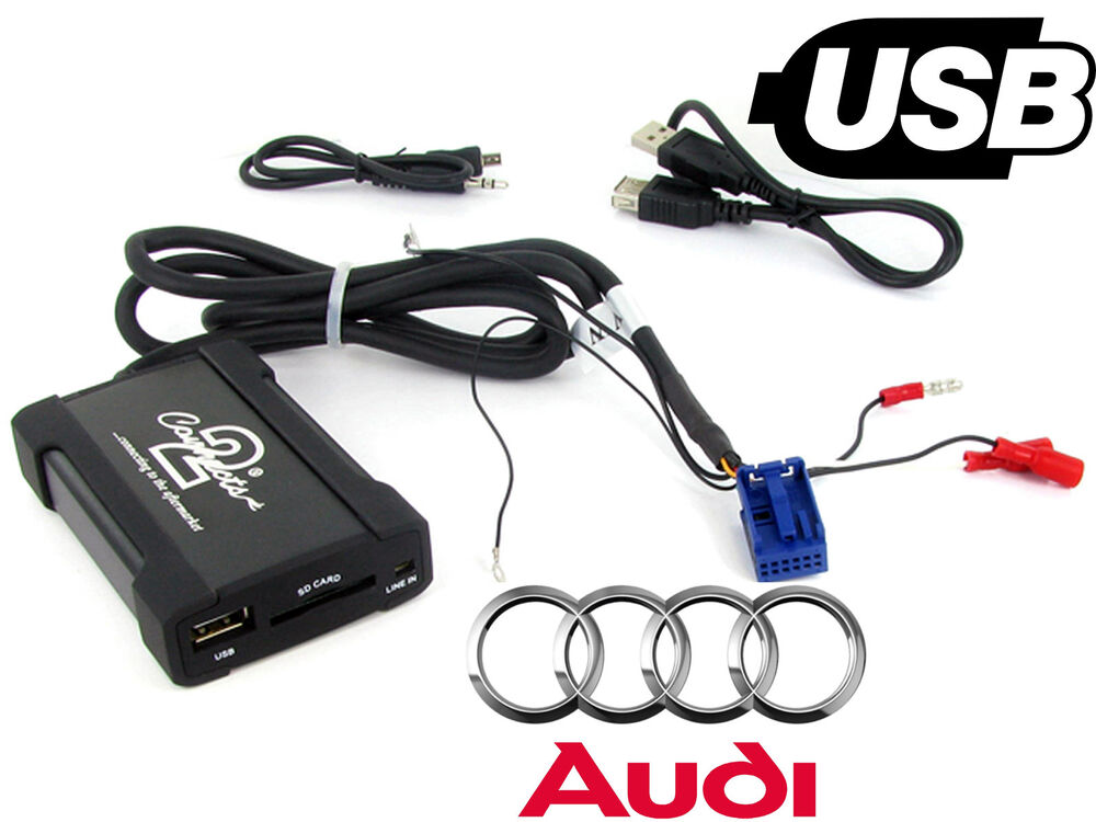 audi a3 usb adapter interface ctaadusb004 car aux sd input mp3 jack 2003 onwards ebay. Black Bedroom Furniture Sets. Home Design Ideas